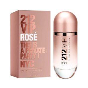 Perfume 212 VIP Rosé Carolina Herrera 80 ml