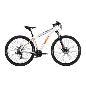 Bicicleta Mtb Caloi Explorer 10 Aro 29 Branca