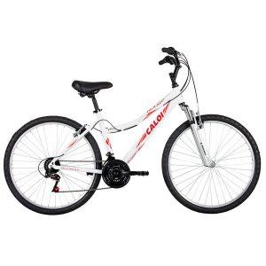 Bicicleta Caloi Aro 26 - 21 Marchas Rouge 2016 Lazer Preta e Rosa 9987843