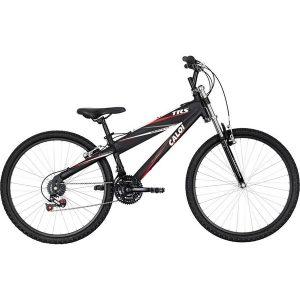 Bicicleta Caloi Trs 2018 21 Marchas Aro 26 Preto