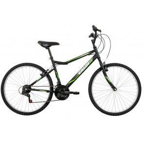 Bicicleta Caloi Twister Aro 26, Freio V - Brake, Headtube Oversize, 21 Marchas Preta