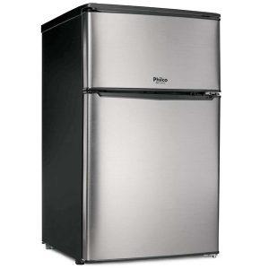 Philco PH89 DUPLEX Refrigerador - congelador alto - 48.6 cm - 86 litros - Aço escovado - 220V