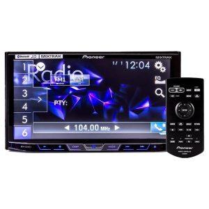DVD Player Automotivo Pioneer Avh - X5880Tv 2 - Din com TV Digital Bluetooth USB 7 Polegadas e Mixtrax
