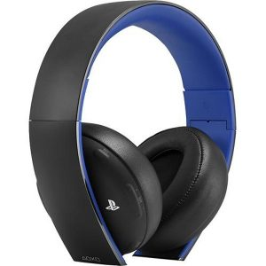 Headset Wireless Stereo Gold Ps4 Sony - Preto Preto