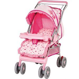 Carrinho de Bebê Passeio Thor Cinza até 15kg Tutti Baby 1015252