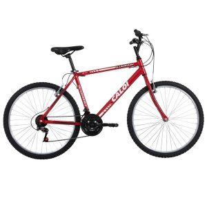 Bicicleta Caloi Aluminum Sport - Aro 26 - 21 Marchas - Alumínio - Unissex - 7891473015843