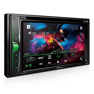 DVD Player Automotivo Pioneer 2 Din AVH - A208BT - Tela 6.2 ´ - USB, Aux e Bluetooth
