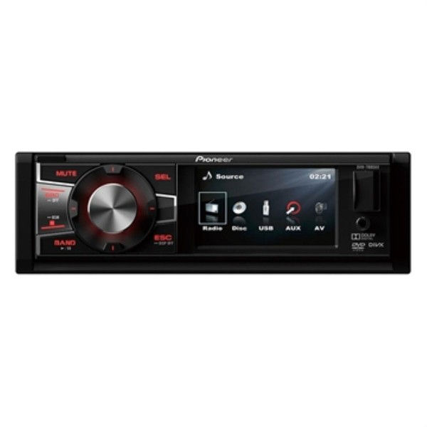 DVD Player Automotivo Pioneer DVH - 7880AV Tela 3 ´ ´ USB Entrada RCA