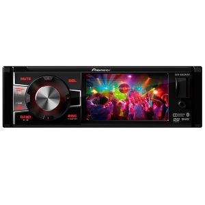 DVD Player Automotivo Pioneer DVH - 8880AVBT Tela 3,5 ´ ´ com Bluetooth USB Entrada RCA