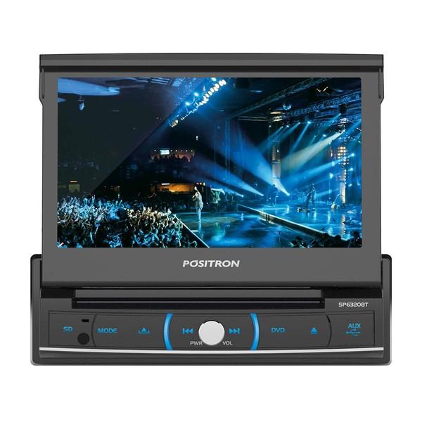 DVD Player Automotivo Pósitron SP6320BT Tela7 ´ Entrada USB Cartão SD Card Bluetooth
