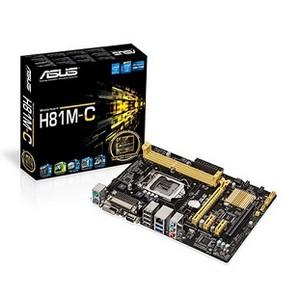 Placa Mãe Asus Intel H81 ( 1150 ) Matx - H81m - Cs / Br