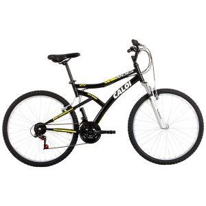 Bicicleta Caloi Andes Aro 26 21 Marchas Suspensão Dianteira Freio V - brake