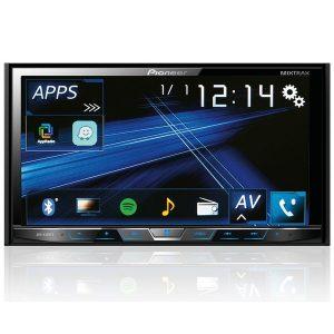 DVD Player Automotivo 2 - Din Pioneer AVH - X598TV com Conexão Bluetooth, TV Digital, Entrada USB Rádio FM, Integração com Waze e Spotify