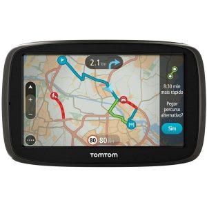 GPS Automotivo TomTom GO 60B Tela 6 ´ Bluetooth com Trânsito Tempo Real