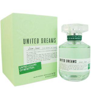 Perfume United Dreams Live Free Benetton 50 ml