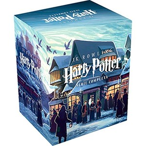 Box - Harry Potter - Série Completa ( 7 Volumes ) - 9788532512949