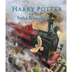 Livro - Harry Potter e a Pedra Filosofal ( Edição Ilustrada ) - 9788532530271