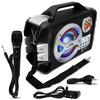 Caixa de Som Portátil Bluetooth Lenoxx Music Wave CA - 303 MP3 USB SD AUX MIC FM Gravação Karaokê