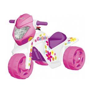 Moto Elétrica Infantil Ban Moto Gatinha 6v - Bandeirante