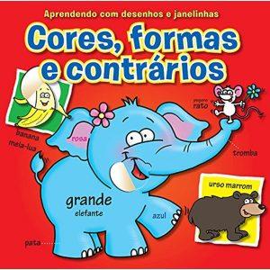 Livro - Cores, Formas e Contrários: Aprendendo com Desenhos e Janelinhas - 9789461957283
