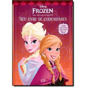 Livro - Disney Frozen, Meu Livro de Curiosidades: Uma Aventura Congelante - 9788576837282
