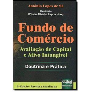 Livro - Fundo de Comércio: Avaliação de Capital e Ativo Intangível - Doutrina e Prática - 9788536238852