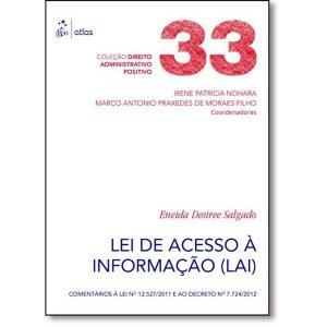 Livro - Lei de Acesso Informação ( LAI ) - 9788597001839