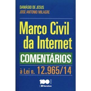 Livro - Marco Civil da Internet: Comentários à Lei Nº12.965 / 14 - 9788502230187
