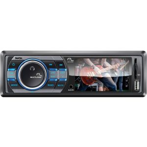 Reprodutor Multimídia Automotivo Multilaser Rock - Display LCD de 3 ´, Rádio FM, Entradas USB, SD e AUX