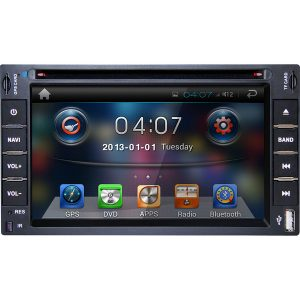 DVD Player Automotivo Napoli DVD - TV 6270 GPS Tela 6,2 ´ Entrada Auxiliar SD Bluetooth