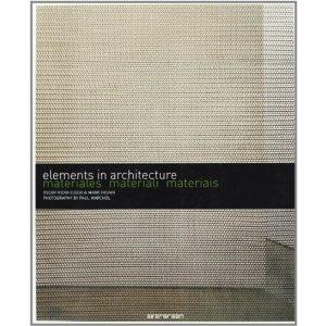 Livro - Elements In Architecture - Materiales, Materiali, Materiais - 9783836503419