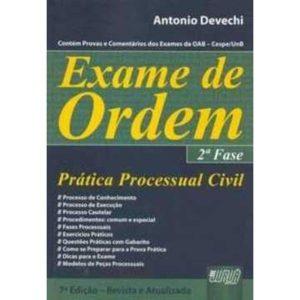 Livro - Exame de Ordem - 2ª Fase - Prática Processual Civil - 9788536228310