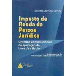 Livro - Imposto de Renda da Pessoa Juridica - 9788573481785