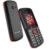 Celular Infinity Dual 34gb 1.7 ´ ´ Mp3 W201 - Preto / vermelho