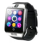 Smartwatch Q18 Faz e recebe Ligações Android Preto