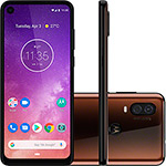 "Smartphone Motorola One Vision 128GB Dual Chip Android Pie 9.0 Tela 6,3"" 4G + Câmera 48+5MP - Bronze"