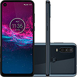 "Smartphone Motorola One Action 128GB Dual Android Pie 9.0 Tela 6.3"" Exynos 9609 (S925) 4G Câmera 12+5+16MP (Quad Pixe) - Azul"