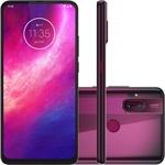 "Smartphone Motorola One Hyper Dual Chip Android Tela 6.5"" 128GB 4G  Qualcomm Snapdragon Câmera 64MP + 8MP - Rosa Boreal"