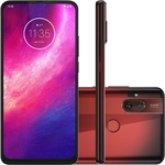 "Smartphone Motorola One Hyper Dual Chip Android Tela 6.5"" 128GB 4G Qualcomm Snapdragon  Câmera 64MP + 8MP - Vermelho Âmbar"