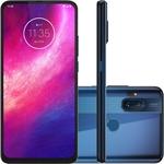 "Smartphone Motorola One Hyper Dual Chip Android Tela 6.5"" 128GB  4G Qualcomm Snapdragon  Câmera 64MP + 8MP - Azul Oceano"
