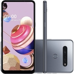 "Smartphone LG K51S  Dual Chip Android 9.0 Pie 6.55"" Octa Core 64GB 4G Câmera 32MP+5MP+2MP+2MP  - Titânio"
