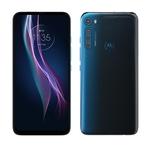 "Smartphone Motorola One Fusion Plus Azul, Tela 6.5"", Câm.Tras 64 + 8 + 5 + 2 MP, Front 16MP, 128GB"