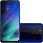 "Smartphone Motorola One Fusion Dual Chip Android Tela 6.5"" 128GB 4G Wi-Fi Câmera 48MP+8MP - Azul Safira"