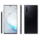 """Smartphone Samsung Galaxy Note 10 256GB Dual Chip Android 9.0 6.3"""" Octa-Core 4G Câmera 12 MP + 16 MP + 12 MP - Preto"""