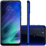 "Smartphone Motorola One Fusion XT2073, Android 10 128GB Câmera Traseira Quádrupla Tela 6.5"", Azul"