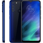 """Smartphone Motorola One Fusion 6.5"""", 128 GB, Android 10, Dual Chip, Câmera Quádrupla, Azul"""