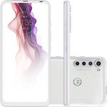"Smartphone Motorola One Fusion+ Dual Chip Android 10 Tela 6.5"" 128GB 4G Câmera 64MP Frontal 16MP - Branco Prisma"