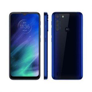 "Smartphone Motorola One Fusion 64GB - 4G 4GB RAM Tela 6,5"" Câm. Quádrupla + Selfie 8MP - Unissex-Azul"