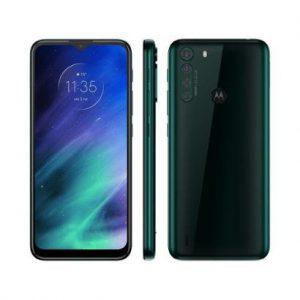 "Smartphone Motorola One Fusion 64GB - 4G 4GB RAM Tela 6,5"" Câm. Quádrupla + Selfie 8MP - Unissex-Verde"
