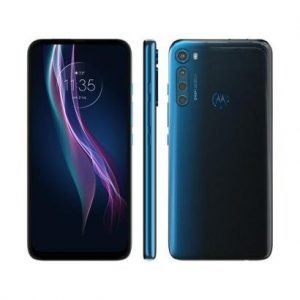 "Smartphone Motorola One Fusion+ 128GB 4G - 4GB RAM Tela 6,5"" Câm. Quádrupla + Selfie 16MP - Unissex-Azul"